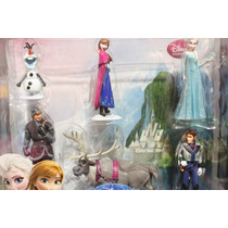 Set De Figuras De Frozen Disney