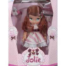Boneca Jolie Ruiva Infantil Grande