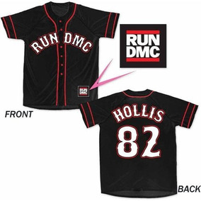 Camiseta Baseball Run Dmc Hip Hop Original Importada Usa