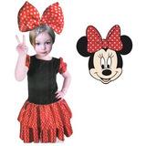 Fantasia Minnie Mouse Disney Baile Festas Infantis Frete Off