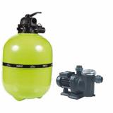 Kit Moto Bomba Autoasp.1/2 Pre-filtro E Filtro V-40 55 Mil L