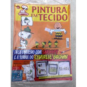 Revista: Pintura Em Tecido Peanuts Nº 1 - Snoopy