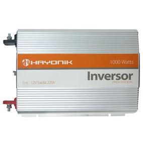 Inversor Hayonik 1000w Transformador 12v Para 220v Senoidal