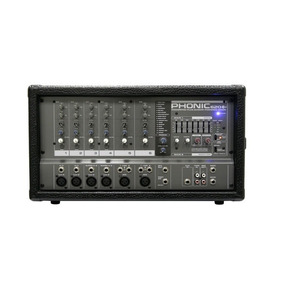 Mixer Amplificado Phonic Pwrpod 620 Pt1 - 001761