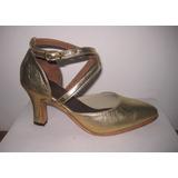 Sólo Talle 36! Zapatos Estudio Danza Tango Salsa 100% Cuero