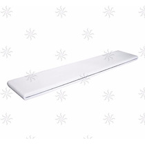 Cascata Para Piscinas 200cm De Embutir Em Fibra Branca