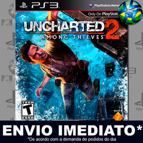 Ps3 Uncharted 2 Among Thieves Goty Edition Código Psn