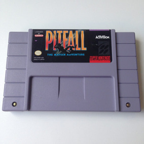 Fita Pitfall Original - Super Nintendo - Snes