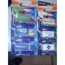 Adventure Wheels Coleccion Trailers,set 6