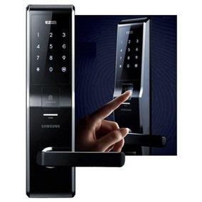 Fechadura Digital Samsung Shs-h705 Leitura Biométrica