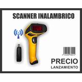 Lector Codigo De Barras Inalambrico Scanner Comercios