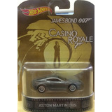Carro James Bond Llantas De Goma Hotwheels