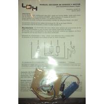 Ldh Decoder Sonido + Motor Dcc System 2f1.5 - Ho