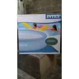 Pileta Intex 244x76+bomba+plastico Del Piso