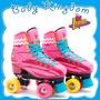 Patin Roller Soy Luna Talle Chico Numero 34 Nuevo Original