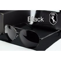 Óculos Sol Aviador Masculino Police 100% Uva-b Frete Grátis