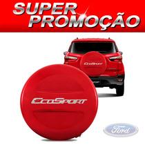 Capa De Estepe Ford Ecosport Todas Vermelho Arpoador S-juros