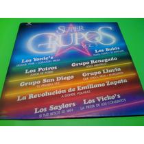 Disco Lp Super Grupos Vol.5 Bukis Lluvia Potros Etc.