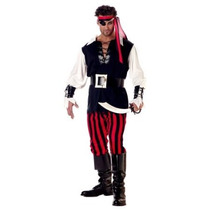 California Disfraces Hombre Adulto Cutthroat Traje De Pirata