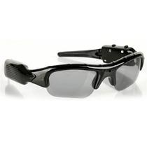 Óculos De Sol Esportivo Com Câmera Espiã Espião + Micro 8gb