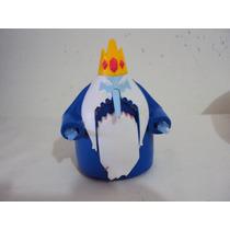 Boneco Personagem Rei Gelado Que Se Mexe Tamanho 11cm