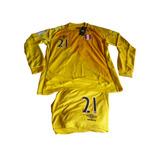 Camiseta Conjunto De Arquero Selección Peruana Umbro New