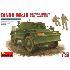 Miniart 35077 - British Scout Car Dingo Mk. Iii- Escala 1/35