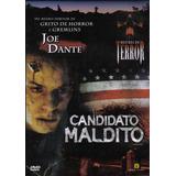 Dvd Candidato Maldito - De Joe Dante - Mestres Do Terror