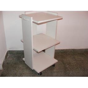 Mesa Rodante De 3 Estantes,odontología, Pedicuria, Salud Y +