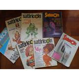 Lote De 9 Revistas Satiricón