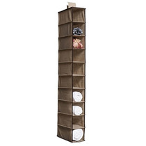 Organizador Sapateira Vertical Closet Armário 10 Divisórias