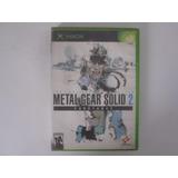 Metal Gear Solid 2 Xbox Substance Xbox En Game Reaktor