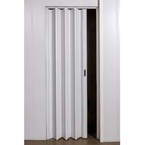 Oferta Puerta Plegadiza Reforz Pvc 10mm Compl Blanca 0,65x2m