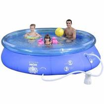 Piscina Mor Splash Fun 4600l Filtro, Capa Forro 110v
