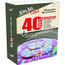 Super Aulão 40 Dvds Enem Vestibular Ensino Médio Cedic