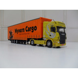Miniatura Scania + Carreta Sider