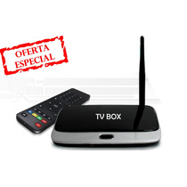 Tv Box Android Smart Quadcore 2gb 8gb Full Hd Con Canales Tv