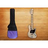 Funda Bajo Eléctrico Tipo Fender Jazz Bass ,precision 10 Mm