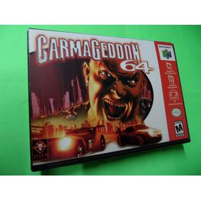 Carmageddon 64 Original Com Caixa Nintendo 64 N64
