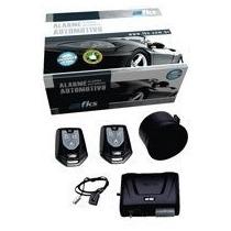 Alarme Automotivo Fks Fk702 Universal Com 2 Controles Cr941
