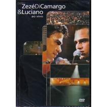Zezé Di Camargo E Luciano - Ao Vivo 2001 (dvd Lacrado)