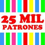 Kit Imprimible 25 Mil Patrones Para Cumpleaños Infantiles