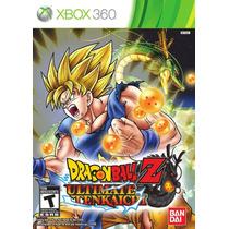 Dragon Ball Z Ultimate Tenkaichi Xbox 360 Nuevo Citygame