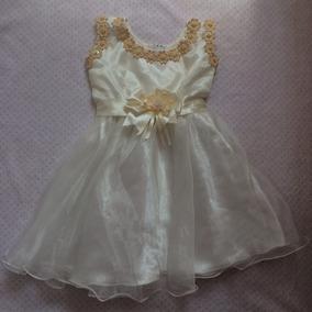 Vestido Para Niña Tipo Bautizo