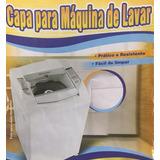 Capa Maq Lavar Napa Impermeavel,super Resist,eletrolux 11 Kg