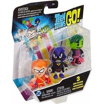Kit Teen Titans Go/ Jovens Titãs - Speedy+ Ravena E Mutano