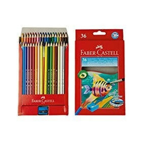 Colores Acuarelables Faber Castell