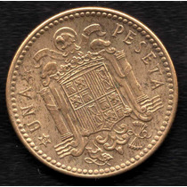 Moneda España 1 Peseta 1947 (49) Xf