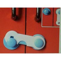 Kit 5 Travas. Segurança Para Bebê, Criança, Armario (azul)