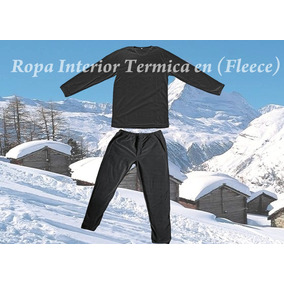 Ropa Interior Termica Invierno En Fleece Climas Extremos